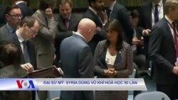 Đại sứ Mỹ: Syria dùng vũ khí hoá học 50 lần