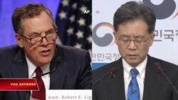 Mỹ-Hàn tranh cãi về thương mại song phương