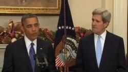 奥巴马提名克里参议员出任国务卿