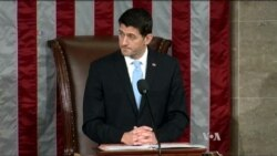 Republican Ryan Is Elected US House Speaker