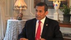 Humala asegura que venezolanos tienen derecho a protestar