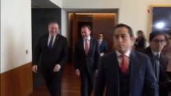 """Pompeo: """"Protegeremos la soberanía de nuestra frontera"""""""