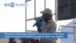 Tanzanian police arrested the chairman of the opposition party Chadema and others ahead of election protests