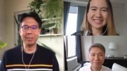 คุยข่าวกับ VOA Thai ในรูปแบบ work from home ประจำวันพุธที่ 15 เมษายน 2563