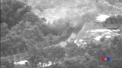 2015-08-11 美國之音視頻新聞:示威者抗議北韓地雷導致南韓軍人受傷致殘