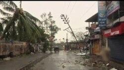 2013-10-13 美國之音視頻新聞: 印度歷史上最嚴重的氣旋風暴結束