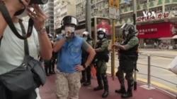 抗議港府延遲立法會選舉接近300人被港警拘捕