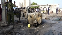 Raw video: Several People Dead After Two Mogadishu Car Bombings