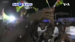 VOA60 AFIRKA: A Togo An sake zaben Shugaba Faure Gnasssingbe a wa'adin mulki na hudu