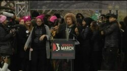 Activist Angela Davis Representing the Powerful Forces of Change Women's March
