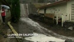 Temen inundaciones en California