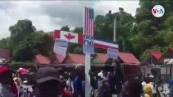 Ayiti: Petro Challengers Fè 7 Tout Palè Nasyonal pou Made Demisyon Prezidan Jovenel Moïse
