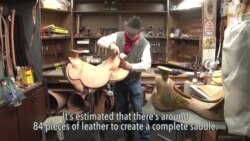 The Making of a Saddle