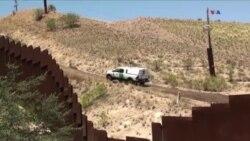 ABŞ-Meksika sərhədində divar debatı