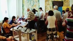 Ukrainians Vote Despite Unrest