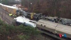 Collision entre deux trains en Caroline du Sud (vidéo)