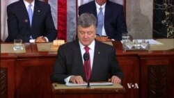Ukraine's President Presses for More US Military Aid