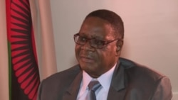 Malawi President Peter Mutharika Speaks With Studio 7's Blessing Zulu.