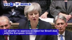VOA60 World PM - Britain's May Postpones Crucial Brexit Vote