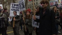 Protesters Call on Cameron to Resign Over Offshore Funds
