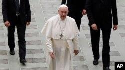 Le pape François, au Vatican, le 21 août 2019.