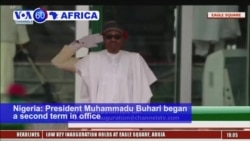 VOA60 Africa - Nigerian President Buhari Sworn In for 2nd Term