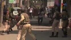 دفعہ 35 اے کے معاملے پر کشمیر میں پرتشدد مظاہرے