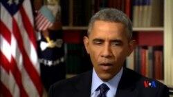 2015-03-03 美國之音視頻新聞: 內塔尼亞胡和奧巴馬闡述伊朗核威脅