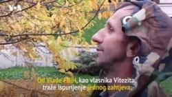 Bivši radnici Vitezita stigli pred Vladu FBiH nakon 2 dana pješačenja