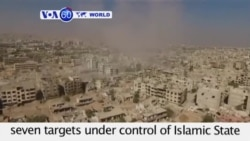 VOA60 World - Russia Launches More Syria Strikes - October 2, 2015