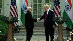 Trump and Modi Talk Security, Trade