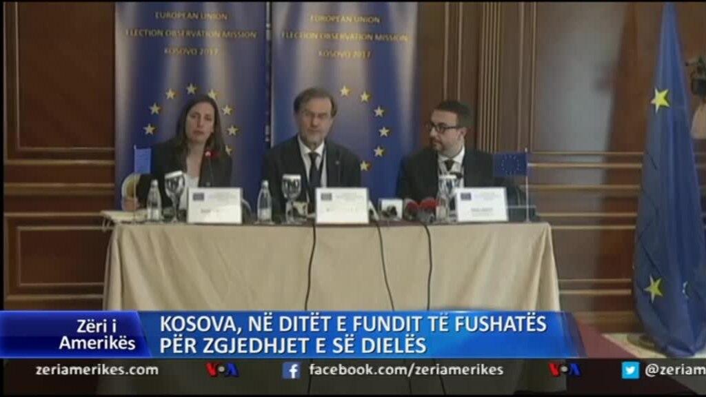 Kosova në ditët e fundit të fushatës për zgjedhjet e së dielës