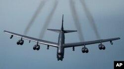 미국 B-52H 전략 폭격기.
