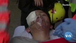 Jornalista fica ferido em confrontos em Hong Kong