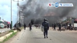 Manchetes africanas 22 outubro: Nove pessoas morreram na Guiné-Conacri em meio a tensões pós eleições presidenciais