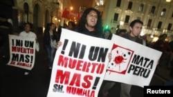 Những người chống đối đã tổ chức các cuộc biểu tình chống dự án này kể từ tháng 3 năm nay.