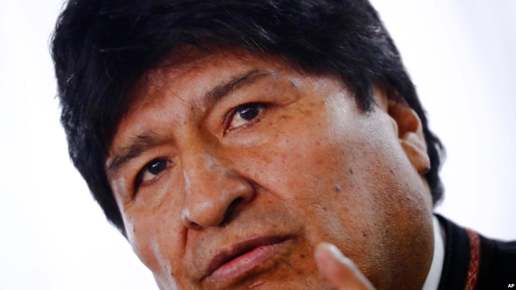 """El expresidente boliviano Evo Morales, dijo en un comunicado el 16 de enero de 2020 que """"convicción más profunda siempre ha sido la defensa de la vida y de la paz""""."""