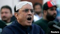 Shugaban Pakistan Alif Ali Zardari
