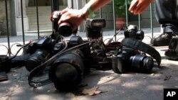 Según la organización internacional Reporteros sin Fronteras, México es uno de los países de mayor riesgo para ejercer el periodismo.