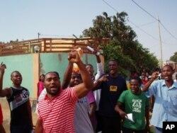 Protestos após a libertação