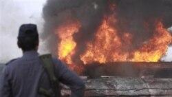 ده ها تانکر نفتی ناتو در پاکستان مورد حمله قرار گرفتند