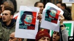 Les Etats-Unis sanctionnent Kadhafi