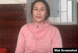 Bà Lê Thị Bình. Photo CAND.