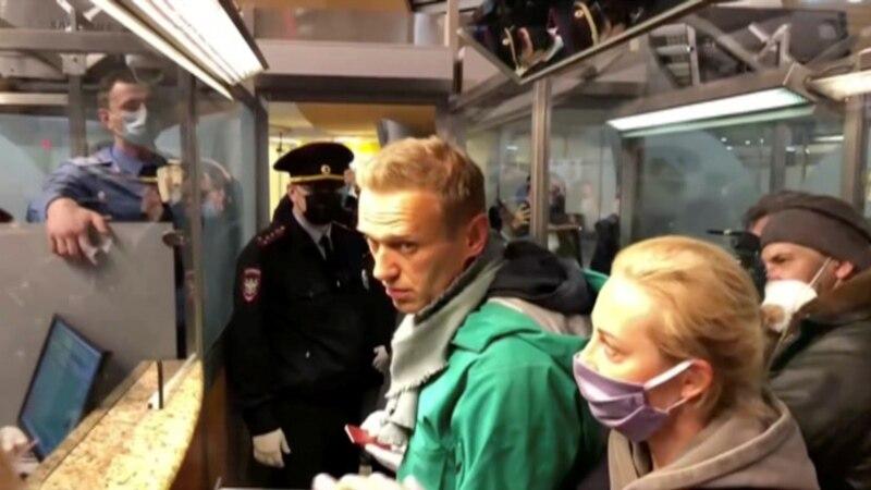 美国强烈谴责俄罗斯当局逮捕反对派人士纳瓦尔尼