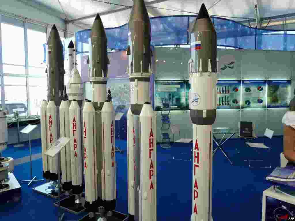 """Семейство ракет-носителей """"Ангара"""""""