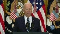 Джо Байден дав першу офіційну прес-конференцію на посаді президента США. Відео