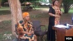 Umpathintambo wezokwethulwa kwemibiko uNkosikazi Monica Mutsvangwa