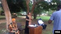 Umpathintambo wezokwethulwa kwemibiko, uNkosikazi Monica Mutsvangwa
