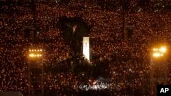 香港支联会统计,2019年6月4日六四30周年维园烛光晚会有超过18万人参与,是2014年雨伞运动后的新高数字。