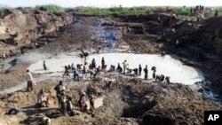 Mine de Kabwebwe en RD-Congo